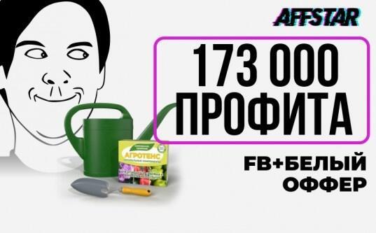 Кейс: FB + Белая товарка = 173 000 руб за 9 дней