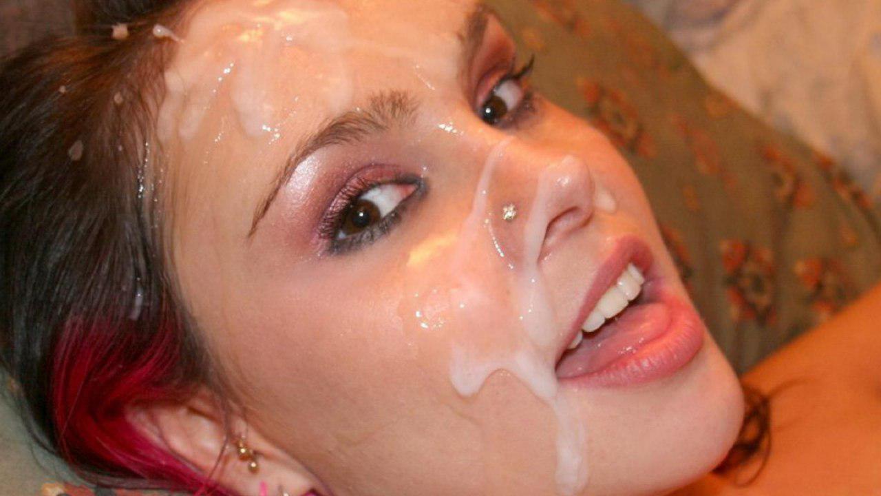 Фото очень много спермы на красивых девушках фото