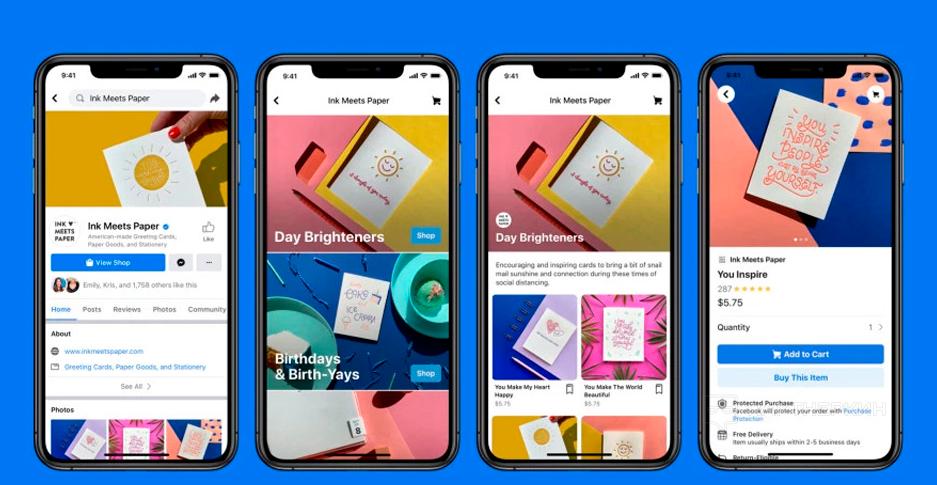 Цукерберг представил Shops — сервис для создания интернет-магазинов внутри соцсети
