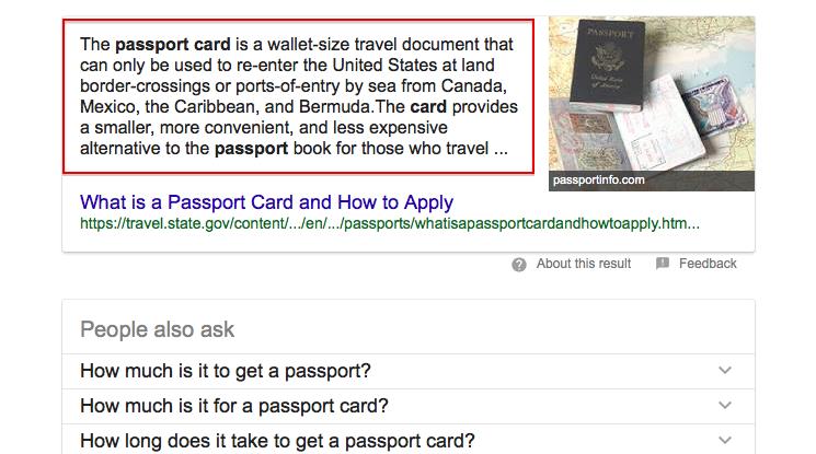 Как попасть на нулевую-позицию в Google
